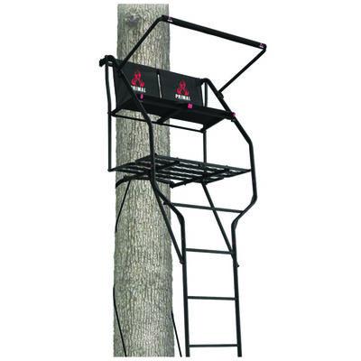 18' Double Vantage 2-Man Ladder, , large