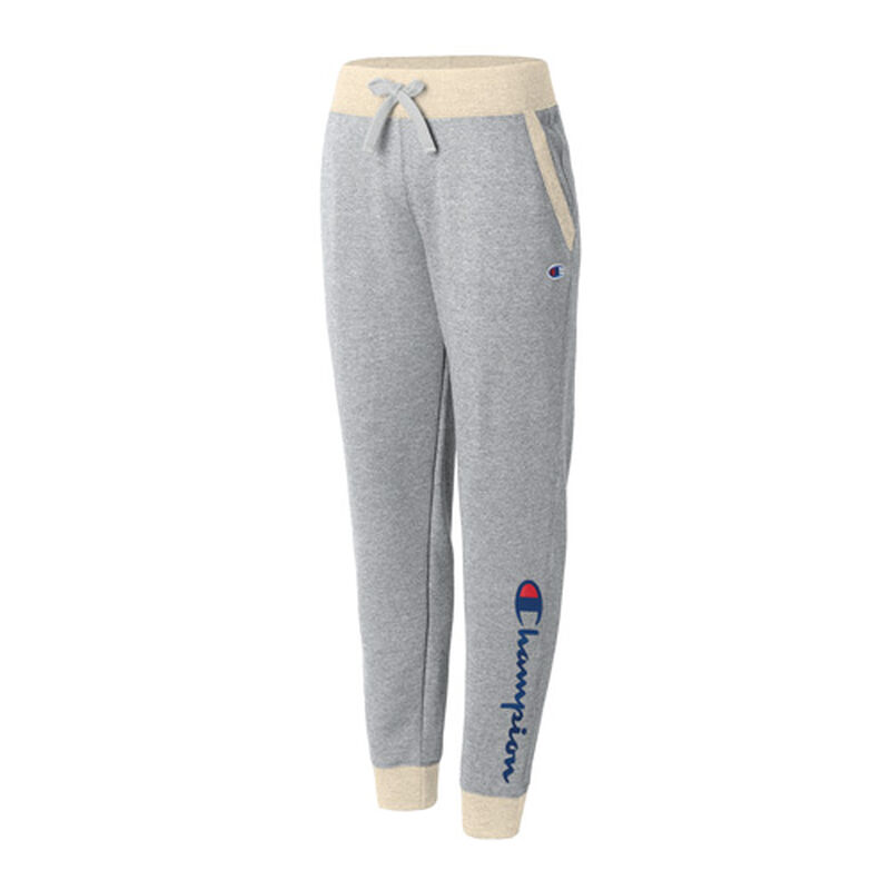 Women's Fleece Graphic Joggers, , large image number 0