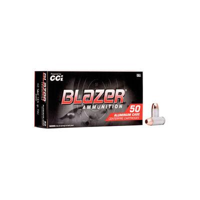 Blazer .40 Smith & Wesson 165GR FMJ Ammunition