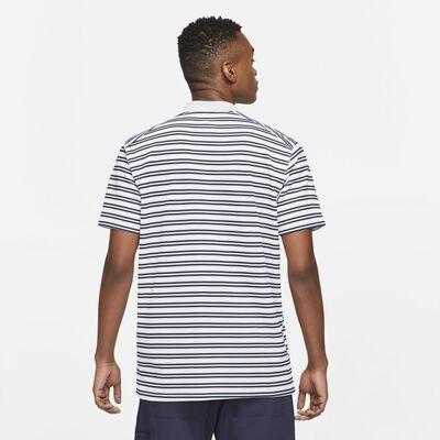 Men's Dri-FIT Victory Polo, Gray/White, large