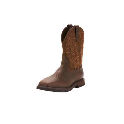Ariat Men's Groundbreaker Wide Square Toe Waterproof Steel Toe Work Boot