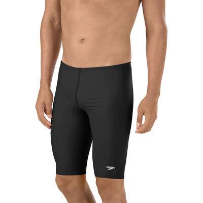 Speedo Men's Solid Jammer Swimsuit