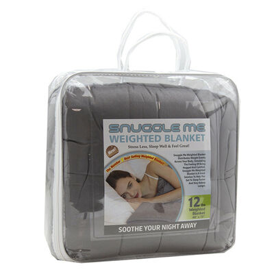 Snuggle Me 12-lb. Weighted Blanket, , large