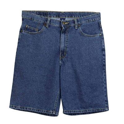 Full Blue Men's 5 Pocket Denim Shorts