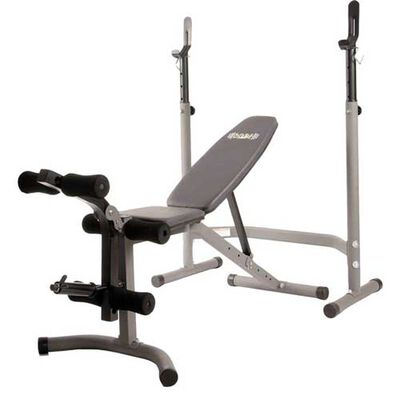 BCB3780 2pc Olympic Weight Bench, , large