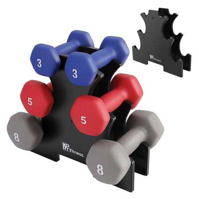 Xprt Fitness 32lb Neoprene Dumbbell Set