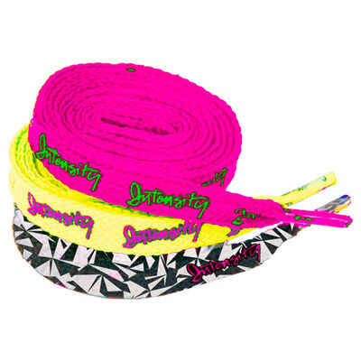 Intensity Women's Afrayed Knot Shoelaces 3-Pack