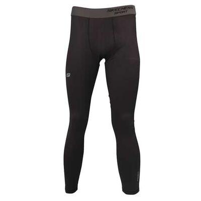 Skechers Men's Embossed Sport Compression Tight Leggings