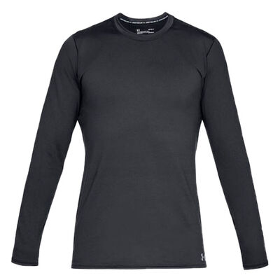 Under Armour Men's Long Sleeve ColdGear Fitted Crew Top