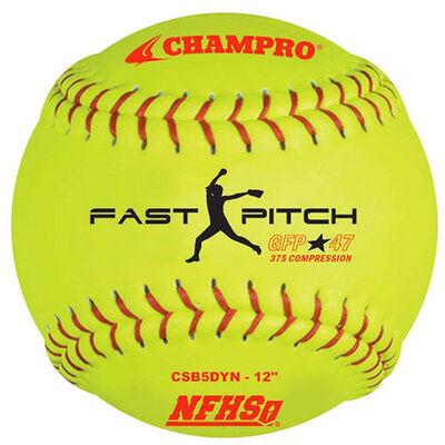 """Champro 12"""" 2 Pack Fast Pitch Softballs"""