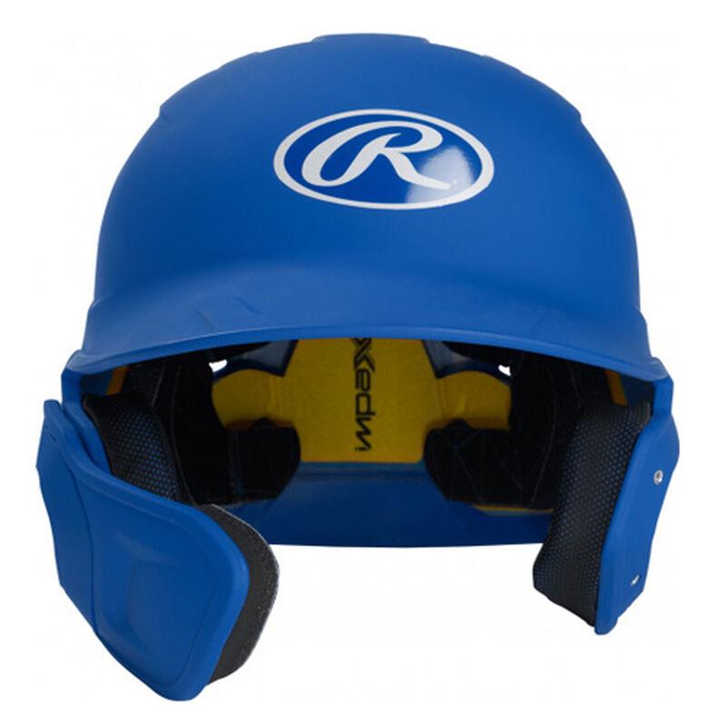 Junior MACH Matte Left-handed Batting Helmet, Royal Bl,Sapphire,Marine, large image number 0