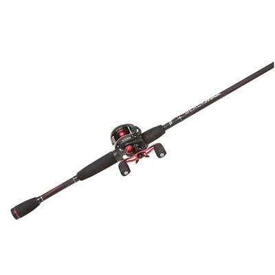 Black Max Baitcast Combo Fishing Rod, , large