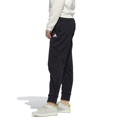 Women's Game and Go Tapered Joggers, Black/White, large