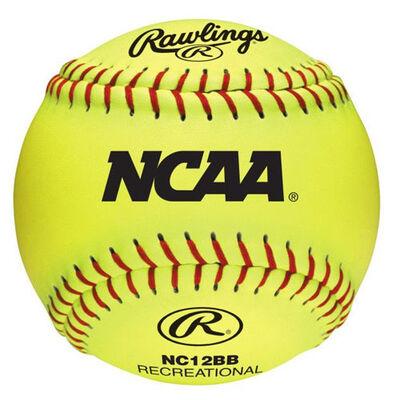 "Rawlings 12"" NCAA Outdoor Training Softball"