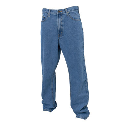 Full Blue Men's 5 Pocket Classic Relaxed Fit Jeans
