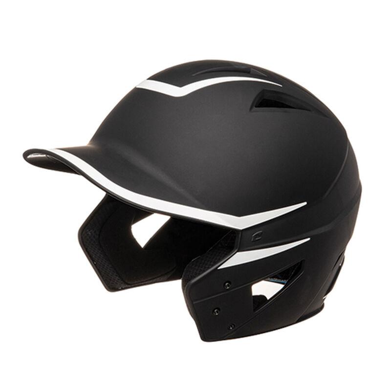 Senior HX 2-Tone Matte Batting Helmets, Black/White, large image number 0