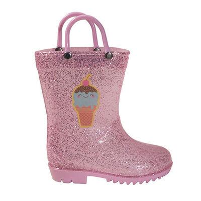 Girls' Toddler Glitter Rainboot