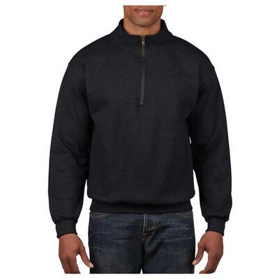 Gildan Men's Long Sleeve Quarter Zip Fleece