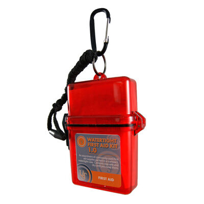 Ust Watertight First Aid Kit 1.0 Storage Case For Minor Injuries