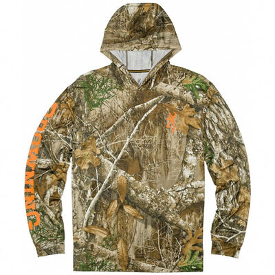 Browning Men's Long Sleeve Hooded Shirt