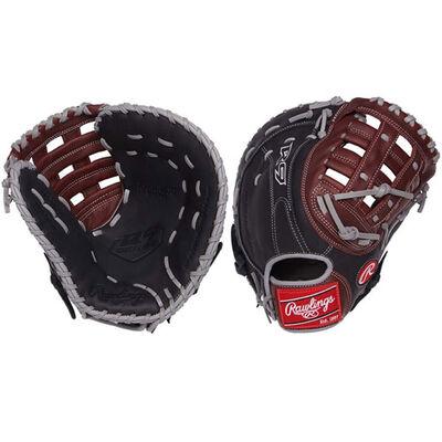 "Rawlings Youth 12.5"" R9 First Base Baseball Glove"