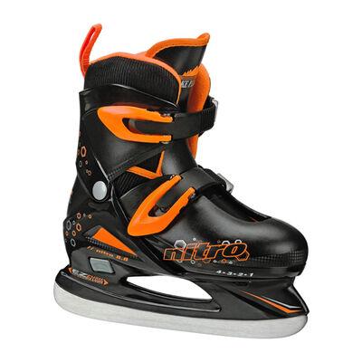 Lake Placid Boys' Nitro Skates Adjustable Ice Skates