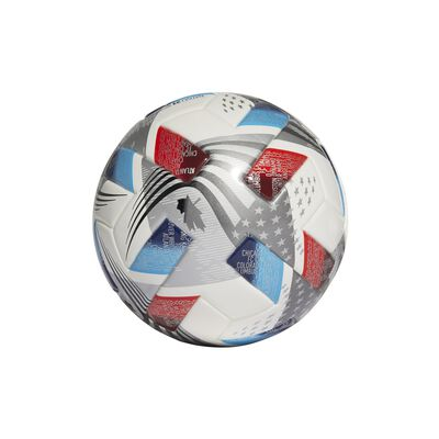 MLS Mini Soccer Ball, Red, White And Blue, large
