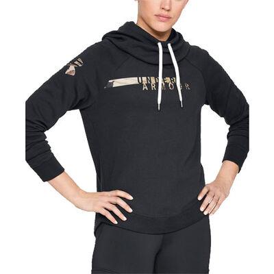 Under Armour Women's Favorite Fleece Camo Logo Hoodie