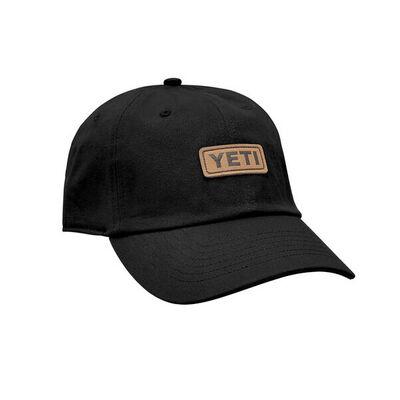 Yeti Leather Logo Badge Cap