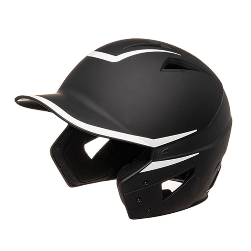 Junior HX 2-Tone Matte Batting Helmets, Black/White, large image number 0