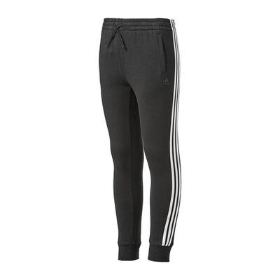 adidas Girls' Dazzle Stripe Fleece Joggers