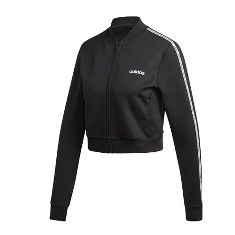 Women's Celebrate The 90's Track Jacket, Black/White, large image number 0