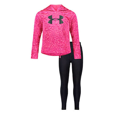 Under Armour Girls' Energy Charge Hoodie Set