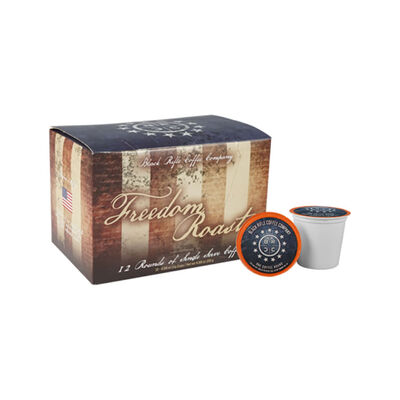 Black Rifle Coffee Co Freedom Road Coffee Rounds 12ct Box