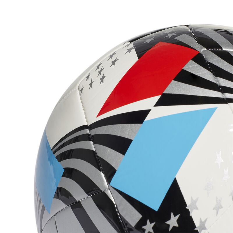 MLS Nativo XXV Club Soccer Ball, Red, White And Blue, large image number 5
