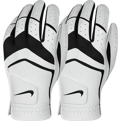 Nike Men's Durafeel Left Hand Golf Gloves 2-Pack