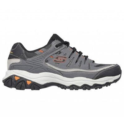 Skechers Men's After Burn Memory Fit Wide Shoes
