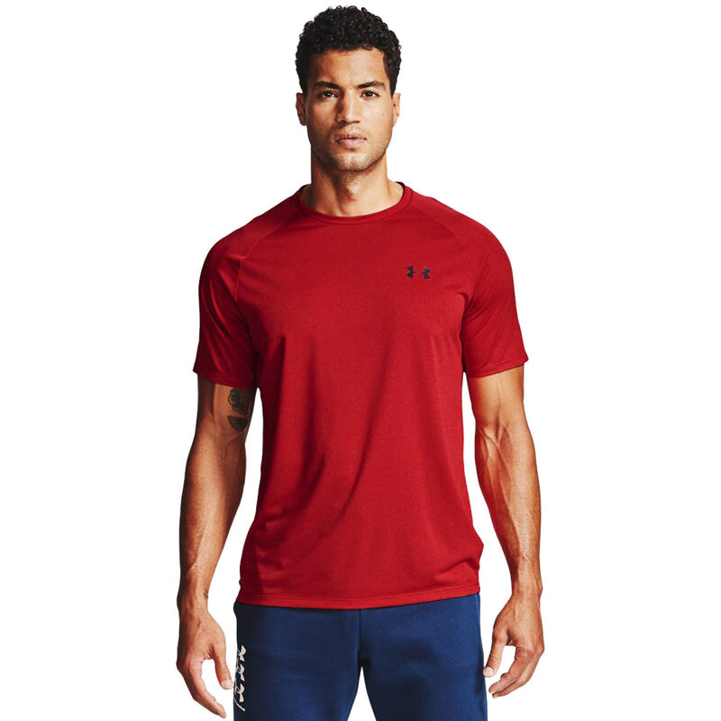 Men's Tech Short Sleeve Tee, Red, large image number 0