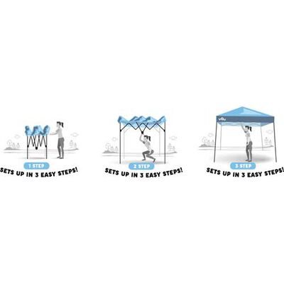 10'X20' Easylift Mammoth Canopy, , large