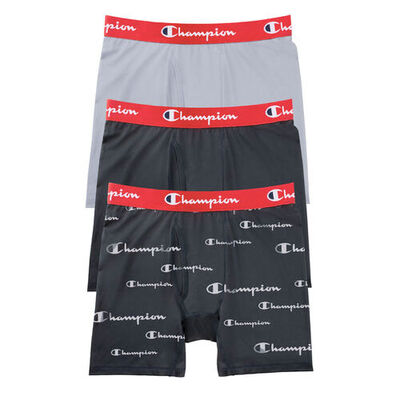 Champion Men's Everyday Comfort 3-pack Boxer Briefs
