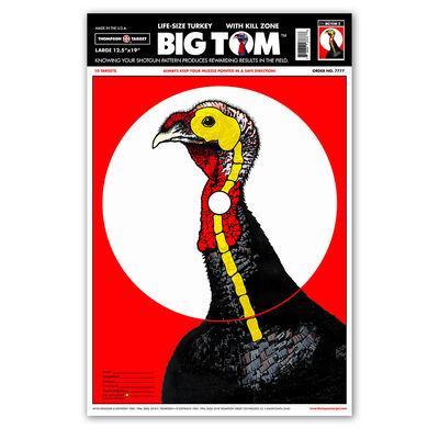 "Thompson Target Large Turkey 12.5""x19"" Targets 10 Pack"