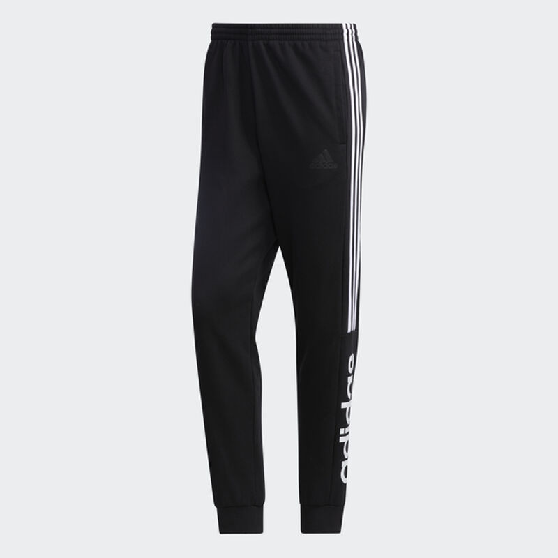 Men's Essentials Colorback Pants, Black/White, large image number 0