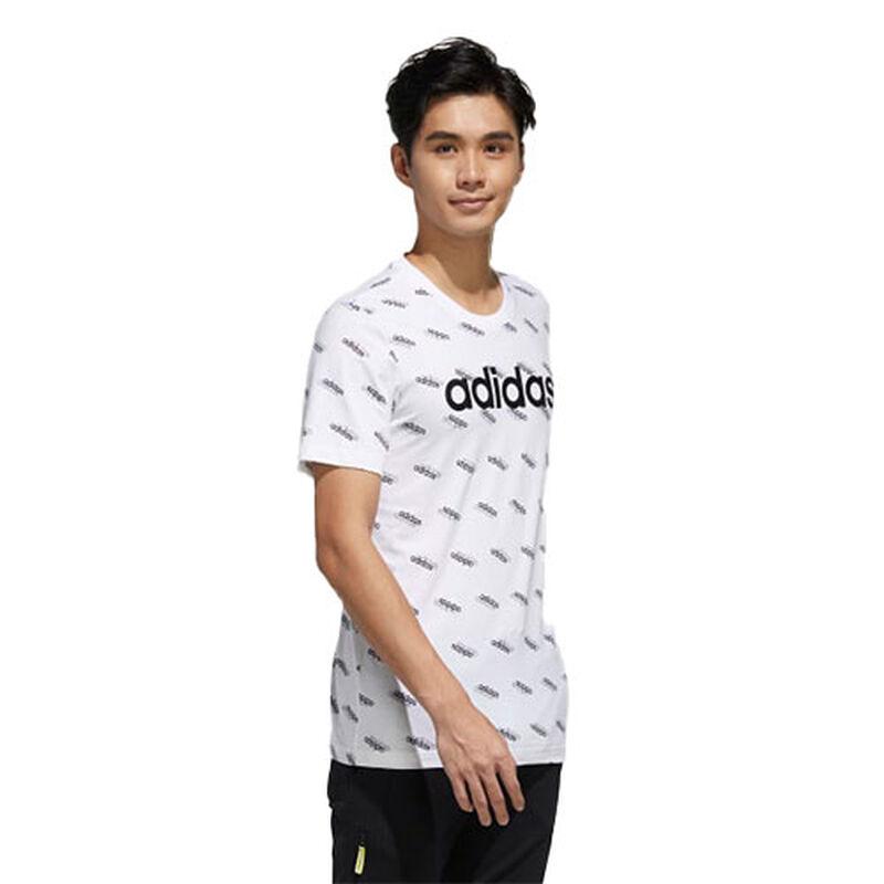 Men's Favorties Short Sleeve Tee, White/Black, large image number 0
