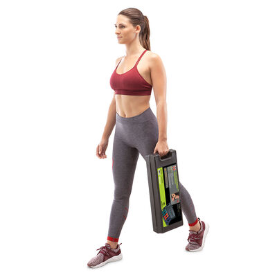 Marcy 3-Pair Neoprene Dumbbell Set with Case