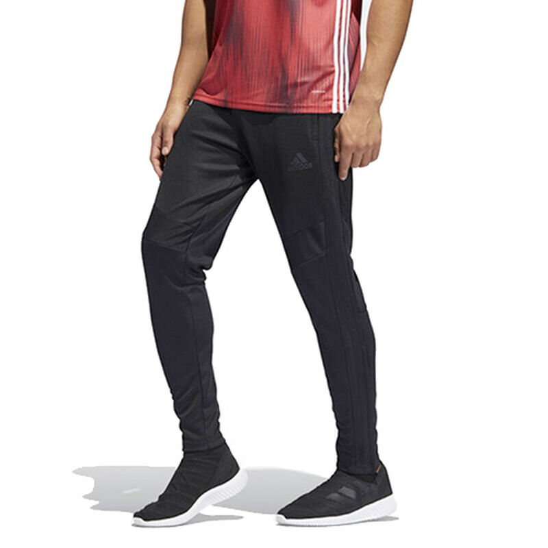Men's Tiro Soccer Pants, Black, large image number 0