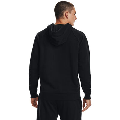 Men's Rival Fleece Cloud Fill Hoodie, Black, large