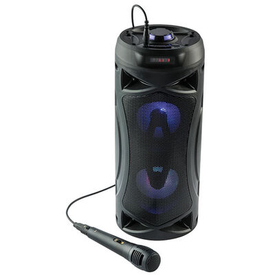 Super-Bass Portable Light-Up Speaker, , large