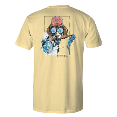Southern Lure Men's Short Sleeve Pup Rod Tee