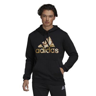 adidas Men's Essentials Fleece Camo-Print Hoodie