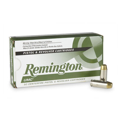 Remington 10MM 180GR FMJ UMC Ammunition